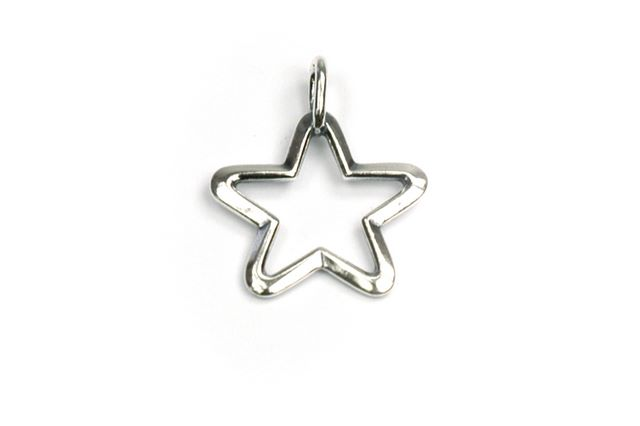 Sterling Silver Toggle Star