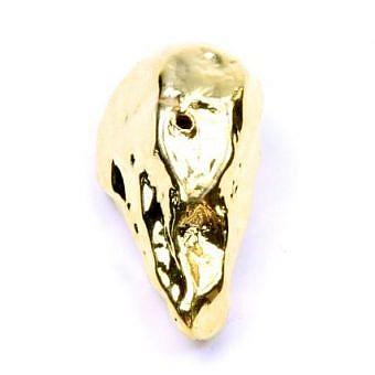 Stone Gold Vermeille Plating Other Irregular Stick SX09N