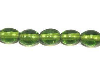 Glass Clear Green Rice Rice SU00V