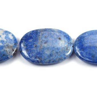Lapis Oval Flat Irregular Oval SM01Y