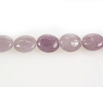 Lepidolite Other Puffy Flat Oval SX06J
