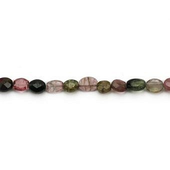 Tourmaline Oval Faceted Flat Oval SW09W