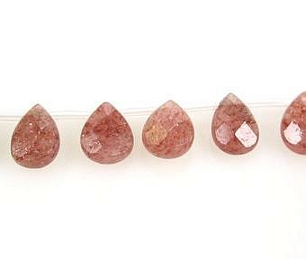 Muscovite Faceted Faceted Flat Pear SX07L