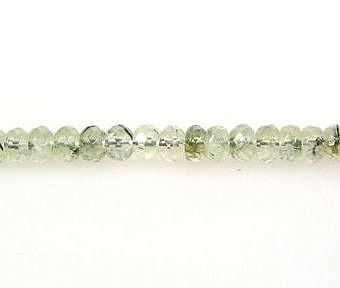 Prehnite Faceted Faceted Rondell SP00M