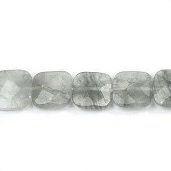 Quartz Misty Faceted Faceted Square SQ04S
