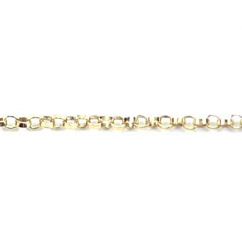 Gold Filled 14kt By the Meter Rolo Chain CR0FG