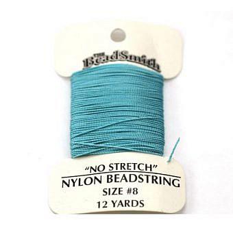 Turquoise Nylon Nylon No 8 No stretch Cord CX10W
