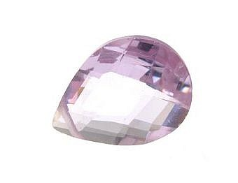Cubic Zirconia Tanzanite Faceted Faceted Flat Pear YZ0ED