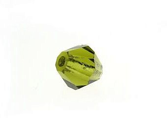 Czech Olivine Other Diamond Cut YC03T