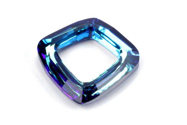 3ee4f785616b1 4437 Cosmic Square Ring Swarovski Bermuda Blue