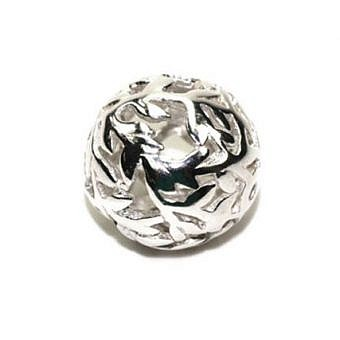 Sterling Silver Bead Bead Branches with Leaves FC2LS
