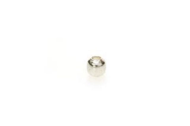 Sterling Silver Bead Smooth Round 2×2 mm