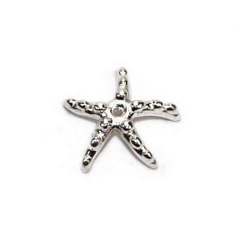 Sterling Silver Cap Cap Starfish FC1QS