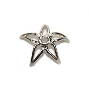 Sterling Silver Cap Cap Starfish FC1LS