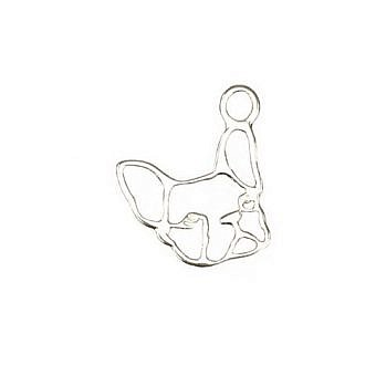 Sterling Silver Charm French Bulldog FH86S