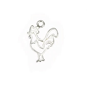 Sterling Silver Charm Rooster FH8FS