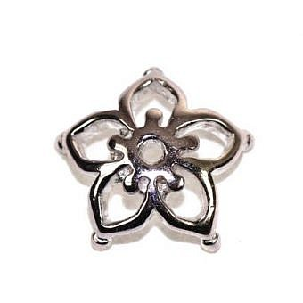 Sterling Silver Charm Cherry Blossom FC1NS