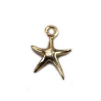 Gold Vermeille Charm Starfish FH5WV