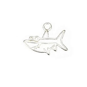Sterling Silver Charm Bruce the Shark FH87S