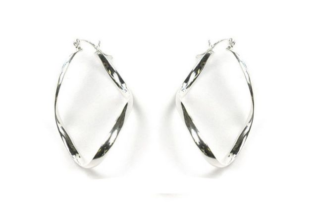 collection circle buy for hinged earrings back only sterling anadx zirconia cubic dangle silver pin at