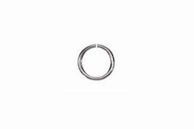 Sterling Silver Jump Ring Circle 18GA 6×6 mm