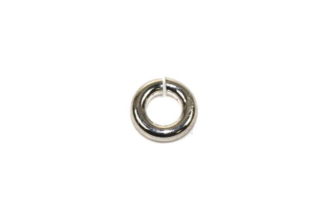 Sterling Silver Jump Ring Circle 22GA 3×3 mm