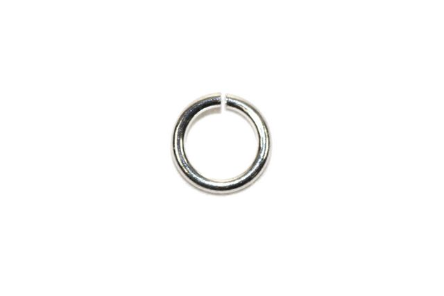 Sterling Silver Jump Ring Circle 22GA 5×5 mm
