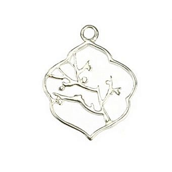 Sterling Silver Pendant Cherry Tree FPMPS