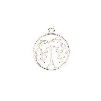 Sterling Silver Pendant Willowy FPMHS