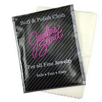 Jeweller's Secret Cloth Fine Jewellery Buff & Polish Cloth TX033